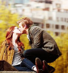 Rory & Amy. <3.... But this picture just hurts... I'm still hurt from what happened to them
