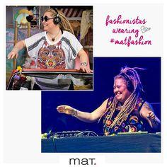 "DJ Esta Polyesta Loves #matfashion ! • Η διάσημη Ολλανδή dj για τις εμφανίσεις σε γνωστά stages επιλέγει να φορέσει τα πιο εντυπωσιακά ρούχα της συλλογής μας! • We just love her moto ""The world is my playground and music is the language""! Don't you? (Κωδικοί 651.1068 & 651.7211) #summer2016 #collection #wears_mat #fashionista #ootd #inspiration #style #dj #festival #outfit #lamardemusicas2016 #ibiza2love #festivalfashion Mat Fashion, All About Music, Singer, How To Wear, Instagram, Singers"
