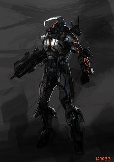 Suit Concept by KM33 on DeviantArt