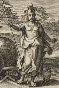 Detail of Allegory of the rule of Sigismund III Vasa from the thesis of Gabriel Kilian Ligęza of Bobrek, to be defended in Douai on 22nd August 1628 with (1) Minerva and (2-3) personification of Poland by Schelte Adamsz. à Bolswert after Pieter Claesz Soutman, 1628, British Museum. The rooftop of the Ossoliński Palace in Warsaw, built between 1639-1642, was adorned with a statue of Minerva, while the main portal had a statue of Poland holding a sickle. #17thcentury #artinpl #mannerism… Warsaw, British Museum, 17th Century, Thesis, Rooftop, Gabriel, Baroque, Poland, Portal