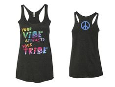 Be The Good In The World Yoga  Ohm  Peace  Love Black Tank Top