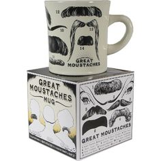 great moustache mug