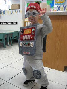 #kid #robot #costume #detail