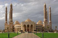 Al-Saleh Masjid, Sana'a, Yemen.