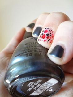 Oct 4th - Revlon by Marchesa 3D Jewel Appliqués, accent nail, China Glaze, Kiss My Glass