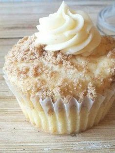 Recipe for New York Style Cheesecake Cupcakes - When I make these, people just RAVE about them! The crumbled graham crackers sprinkled on top add the flavor of a cheesecake base.