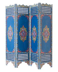 Moroccan screen from moroccanprestige.com.