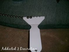 DIY Upholstered Headboard With Nailhead Trim - DON'T FORGET THIS ONE