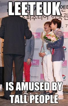Leeteuk and height