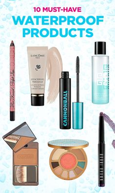 LUX Beauty: 10 Must-Have Waterproof Products. Hello Summer!!! The Tarte Aqualillies palette is to die for!!!!!