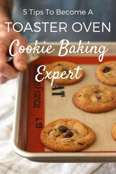 5 Tips That Will Make You A Toaster Oven Cookie Baking Expert. Learn about your toaster oven and how to bake any cookie recipe using it. Toaster Oven Cooking, Convection Oven Cooking, Toaster Oven Recipes, Toaster Ovens, Toaster Oven Cookie Recipe, Best Convection Toaster Oven, Microwave Recipes, Microwave Oven, Small Batch Cookie Recipe