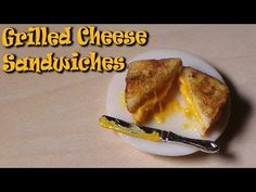 Miniature Grilled Cheese Sandwich  French Toast - Polymer Clay Tutorial - YouTube