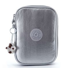 01eddbe5206  50.00 - 100 Pens Case - Platinum Metallic