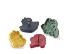 Amazon.com: Snow White & the Seven Dwarfs Press-and-Stamp Cookie Cutters Set of 4 Dopey Grumpy: Kitchen & Dining