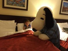 snoopy tuck in by The Spohrs Are Multiplying..., via Flickr