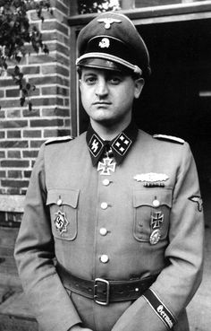 Ss officer uniform german