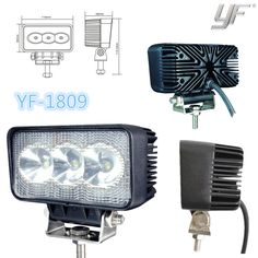 9w led work light led work lamp IP67 CE RoHS any interests in, call me, let's talk more yf12@yufengltd.com