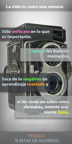 Como Una Camara Pictures, Photos, and Images for Facebook, Tumblr, Pinterest, and Twitter