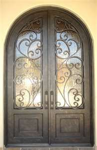 Image detail for -door, measures 6' wide x9' tall, with glacier glass. Antique bronze ...