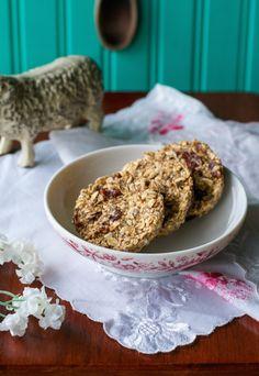 Gluten-free No-Bake Breakfast Cookies