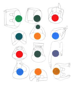 Geoff Mcfetridge Sketches | FormFiftyFive – Design inspiration from around the world