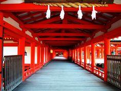 厳島神社 東回廊