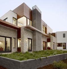 Wood Architecture 01 Contemporary Mediterranean Home   Architecture Home Design