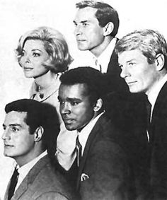 1960s TV Show Actress   From the CBS TV series Mission: Impossible . LEFT: Cast photo with ...