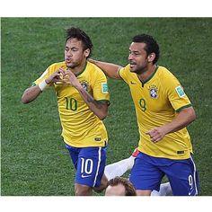 #Brazil 3 X 1 #Croatia - 12/06/2014  Neymar  _____________________________________ #Brasil #Brasileira #Brazil #Seleção #soccer #FootBall #seleçãobrasileira #CBF #Follow #FollowMe #Nike #FIFA #2014 #brazilingram #rumoaohexa #ouseserbrasileiro #worldcup #worldcup2014 #BrasilFootballNationalTeam @Sidney Paris #10 @fredguedes9 #9 #Padgram