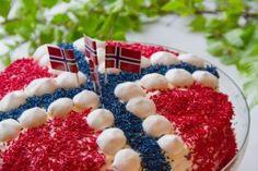 Bilde av Bløtkake med jordbærkrem.