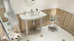 Obklady Royal Place od Tubadzin #obklady #dlazba #ceramictiles #floortiles #design #white #wood