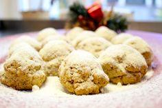 Kourabiedes Greek Christmas Butter Almond Cookies