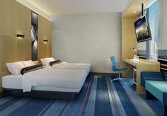 ALOFT Guangzhou Tianhe Hotel designed by Studio HBA.