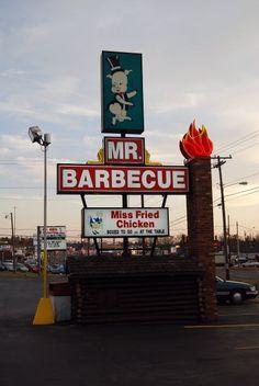 Mr. Barbecue, Winston-Salem, NC!