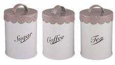 Zestaw 3 pojemników latte
