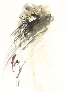 Watercolour, ink - 2015 #iamdanielfisher #fashionillustration #art
