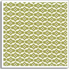 Annette Tatum Fabric - Genie Moss from Mod Collection