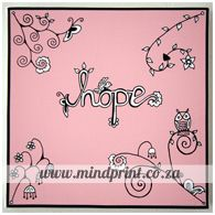 hope (pink) Canvas Prints, Pink, Designs, Typo, Painting, Pastels, Color, Florals, Store