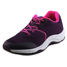 Vionic Womens Action Emerald Sneaker Purple 9 Wide *** Find out more about the great product at the image link.(This is an Amazon affiliate link and I receive a commission for the sales) #WomensTeamSportsShoes