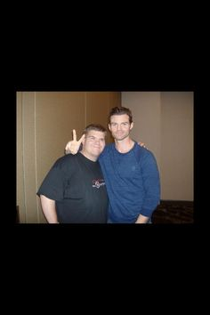 Me with Daniel Gillies