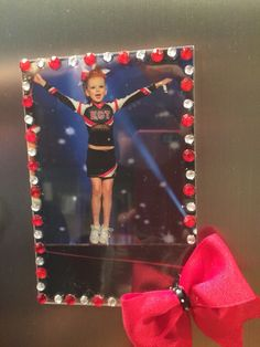 Dollar Tree Frame, Cheer Competition Picture, End of Season cheer gift for team! Go ECT! Cheer Camp, Cheer Coaches, Cheer Dance, Football Homecoming, Football Cheer, Cheerleading Treats, Cheerleader Gift, Cheer Gifts, Team Gifts