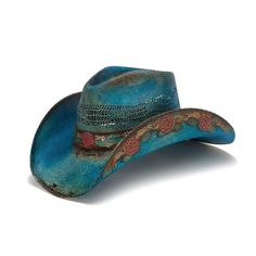 NEW Bullhide Hats 0710Bl Horse Country Collection Crazy Horse Black Cowboy Hat