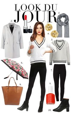 Dressy Casual Outfits, Outfits Otoño, Paris Outfits, Parisian Chic Style, Rainy Day Fashion, Street Hijab Fashion, Moda Chic, Outfit Combinations, Character Outfits