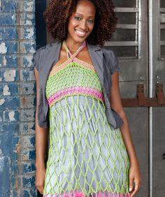 Free Crochet Webby Sundress or Skirt Pattern.