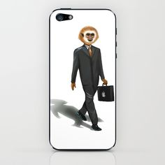 MONKEY iPhone & iPod Skin by Leo Peralta - $15.00 #iphone #case #skins #monkey