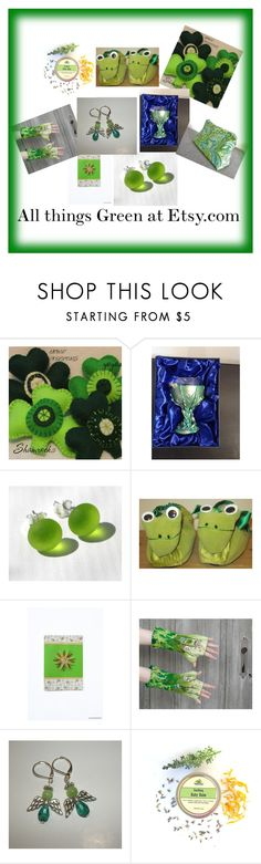 """All things Green"" by margaret-hesketh on Polyvore"