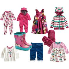 Baby Girl Fashion Fall/Winter 2013. Love the boots!!