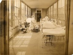 Children's Ward at Boston City Hospital, circa 1890-1910, Boston City Hospital records, (Collection #7020.001) Boston City Archives This work is in the public domain. Please attribute to Boston City Archives. For more images from this collection,...