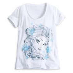 Elsa Tee for Women - Frozen I love the art! Beautiful! 19.95
