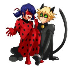 Miraculous Ladybug and Chat Noir~